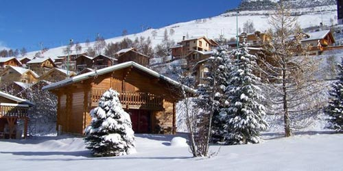 cottage in the center of the resort of Deux Alpes for up to 13 people